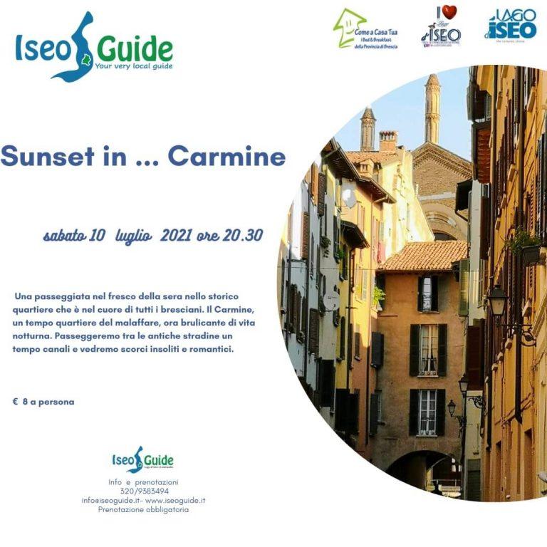 Sunset in Carmine