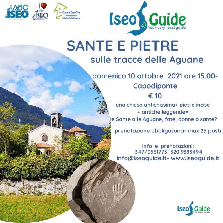 Sante e Pietre 10-10 iseo guide